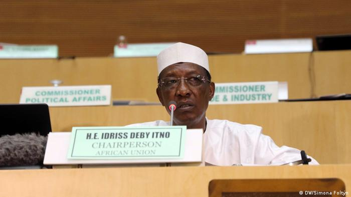 Idriss Deby, chair of African Union Bild: DW/Simona Foltyn