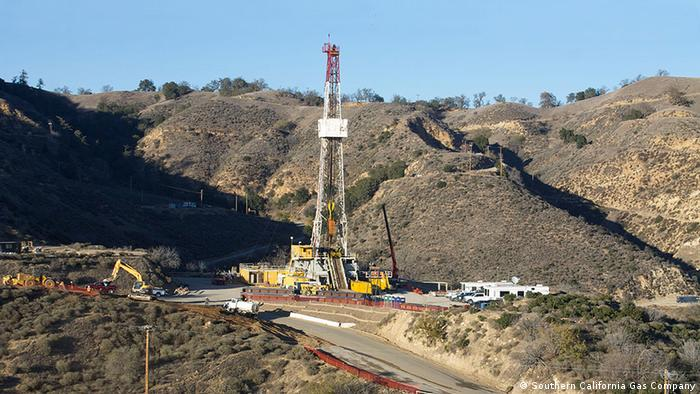 Relief well intended to reduce underground pressure for methane gas leak (Photo: Southern California Gas Company)