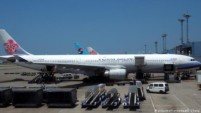 Taiwan China Airlines auf dem Taoyuan International Airport in Taoyuan County (picture-alliance/dpa/D. Chang)