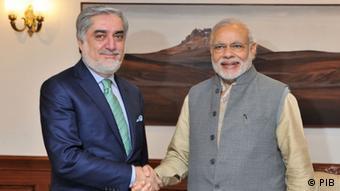 Indien Neu Delhi Abdullah Abdullah bei Modi