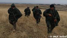Dezember 2015 Peschmerga-Kämpfer, die in der Nähe von Erbil (Irak) von der Bundeswehr ausgebildet werden; Copyright: DW/F. Neuhof