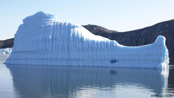Ice Blog Grönland Arktis Meer Eis Eisberg (DW/Irene Quaile)