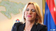 Zeljka Cvijanovic bei Conflict Zone