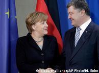 Анґела Меркель та Петро Порошенко у Берліні, лютий 2016