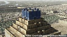 Das antike Babylon Computergrafik