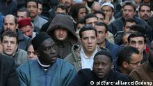 Symbolbild Frankreich Einwanderung Immigration Muslime Männer