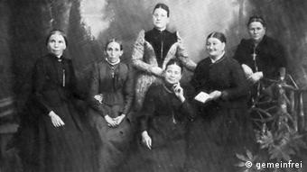 The Beuel Ladies' Committee is pictured in the year 1900, Copyright: gemeinfrei
