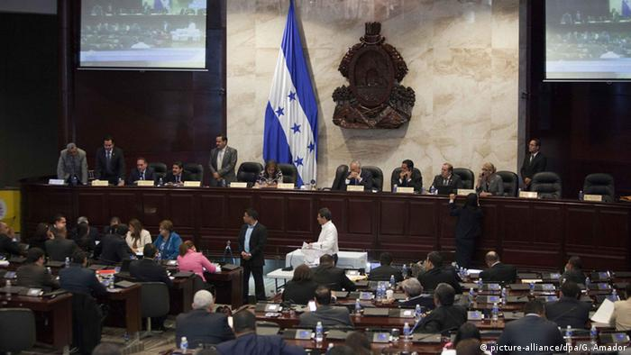 Honduras Parlament (picture-alliance/dpa/G. Amador)