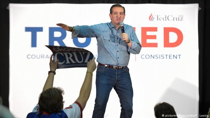 Republicanul Ted Cruz, câștigător al preliminarelor din Iowa