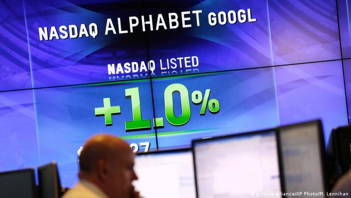 USA Alphabet Börse