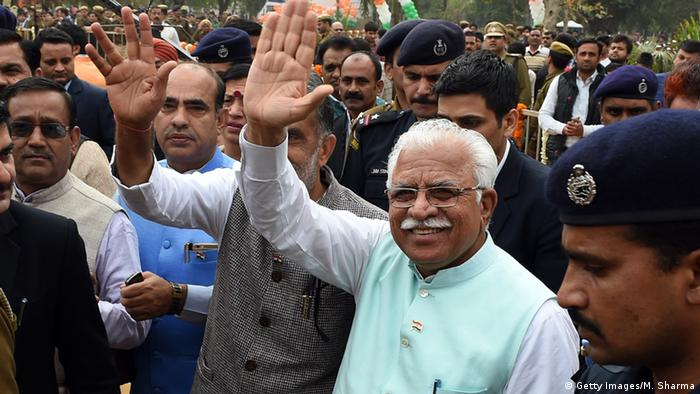 Manohar Lal Khattar (Getty Images/M. Sharma)