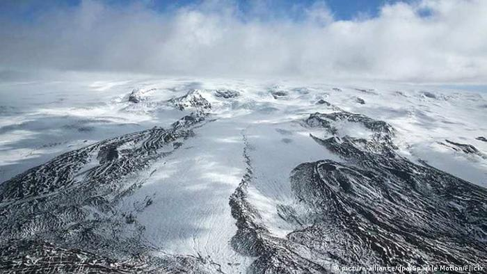 Island Bárdarbunga Vulkan Vatnajökull Gletscher (picture-alliance/dpa/Sparkle Motion/Flickr)