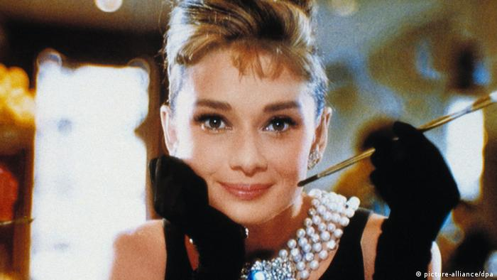 Audrey Hepburn in the movie Breakfast at Tiffany's