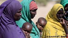 Frauen mit Kindern in Äthiopien