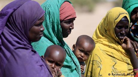 Äthiopien Frauen mit Kindern