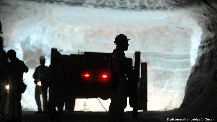 Калийная шахта в Филипстале (Philippsthal), федеральная земля Гессен
