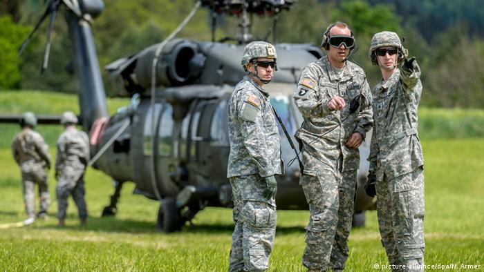 Deutschland, US-Soldaten in Plankenfels