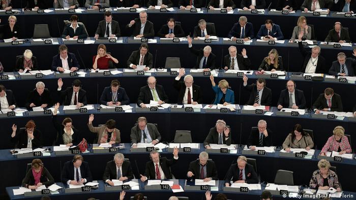 Straßburg Europäisches Parlament - Abstimmung (Getty Images/AFP/F. Florin)