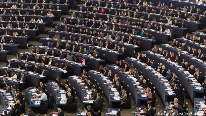 Straßburg Europäisches Parlament - Debatte Flüchtlinge