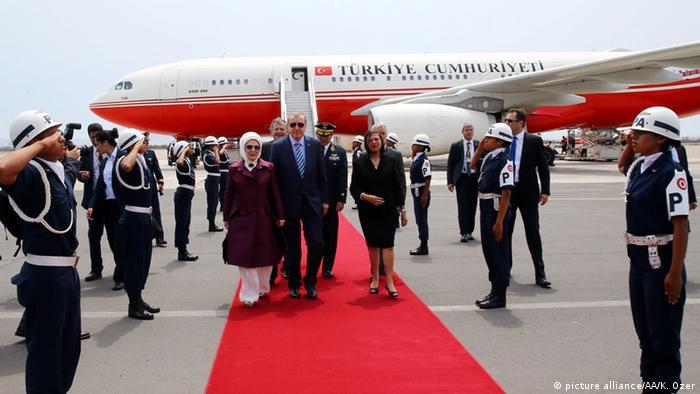 Türkei Peru Präsident Recep Tayyip Erdogan zu Besuch in Lima