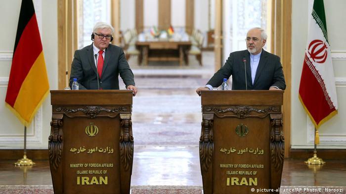 Deutschland Iran Steinmeier zu Besuch in Teheran