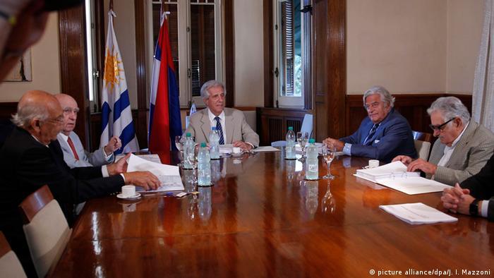 Uruguay Präsident Tabaré Vázquez Setzung über Erdöl