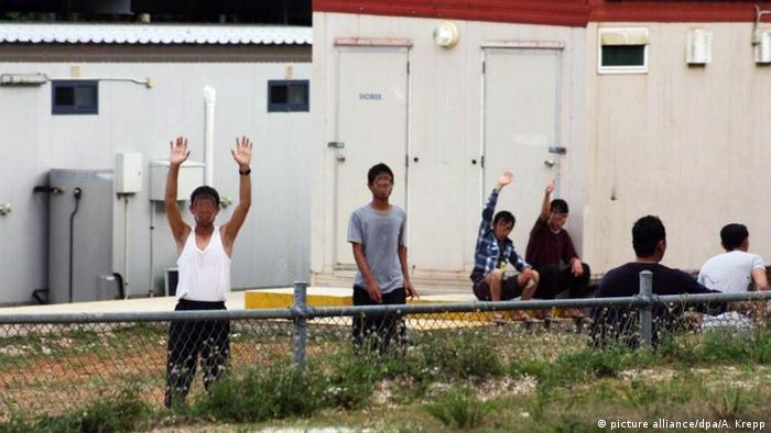 Symbolbild Australien Flüchtlinge