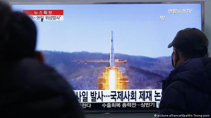 Nordkorea Rakete Südkorea Langstreckenrakete Pläne