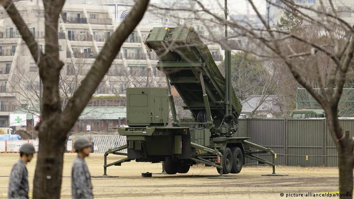 Patriot Advanced Capability PAC-3 System Tokio Raketenabwehrsystem