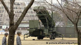 Patriot Advanced Capability PAC-3 System in Tokyo.