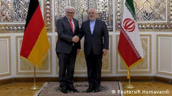 Iran Mohammad Javad Zarif Frank-Walter Steinmeier