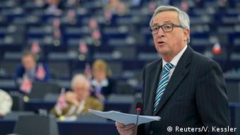 Europaparlament Juncker Debatte zu Brexit