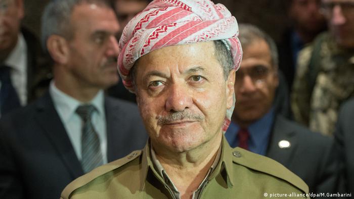 Masud Barzani Präsident Kurdistan Porträt