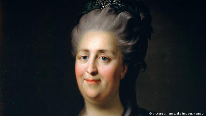 Catherine the Great (picture alliance/akg-images/Nemeth)