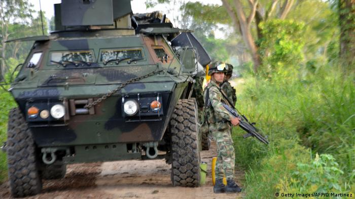 Kolumbianisches Militär im Anti-Guerilla-Kampf (2013) - Foto: Daniel Martinez (AFP)