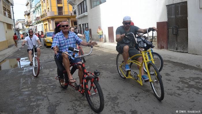 Kuba Martin Staub E-Bikes in Havanna