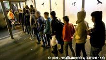 Minderjährige Flüchtlinge vermisst in Europa