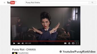 Screen shot of Pussy Riot Video Chaika, Copyright: Youtube/PussyRiotVideo