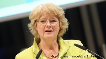Germany's Culture Minister Monika Grütters, Copyright: picture-alliance/dpa/B. Pedersen