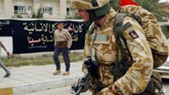 Archivbild Britische Soldaten in Irak