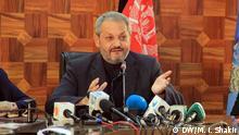 Afghanistan Kabul Ferozudin Feroz Gesundheitsminister