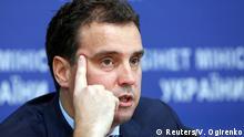 Ukrainischer Wirtschaftsminister Aiwaras Abromawicius
