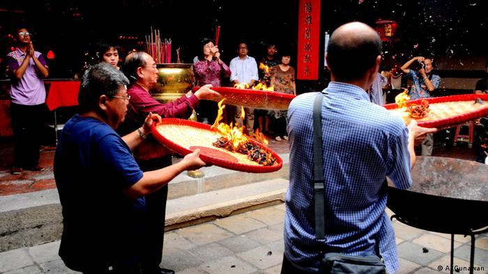 Indonesien, Rituelle Vorbereitungen für das Chinesische Neujahr