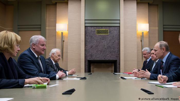 Переговоры Хорста Зеехофера и Владимира Путина, 3 февраля
