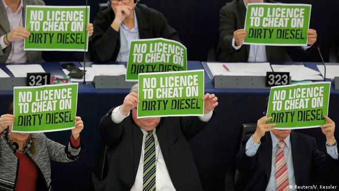 Straßburg Europäisches Parlament Abstimmung Diesel Abgase (Reuters/V. Kessler)