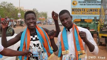 Niger Sympathisanten des früheren Parlamentspräsidenten Hama Amadou