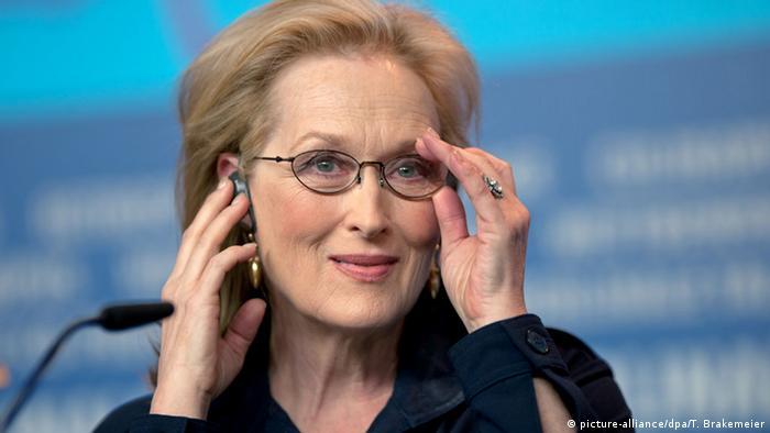 Meryl Streep, Copyright: picture-alliance/dpa/T. Brakemeier