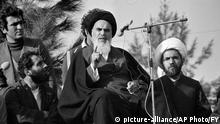 Iran Teheran Rückkhehr Ayatollah Ruhollah Chomeini Exil