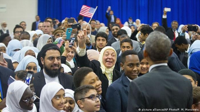 Obama besucht Moschee in Baltimore