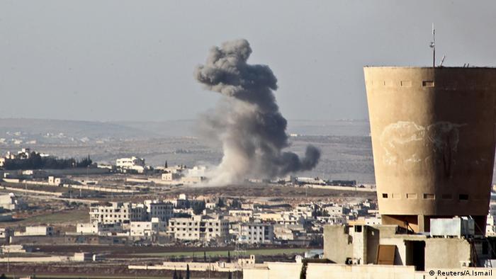 Syrien Aleppo Zerstörung Bombardierung